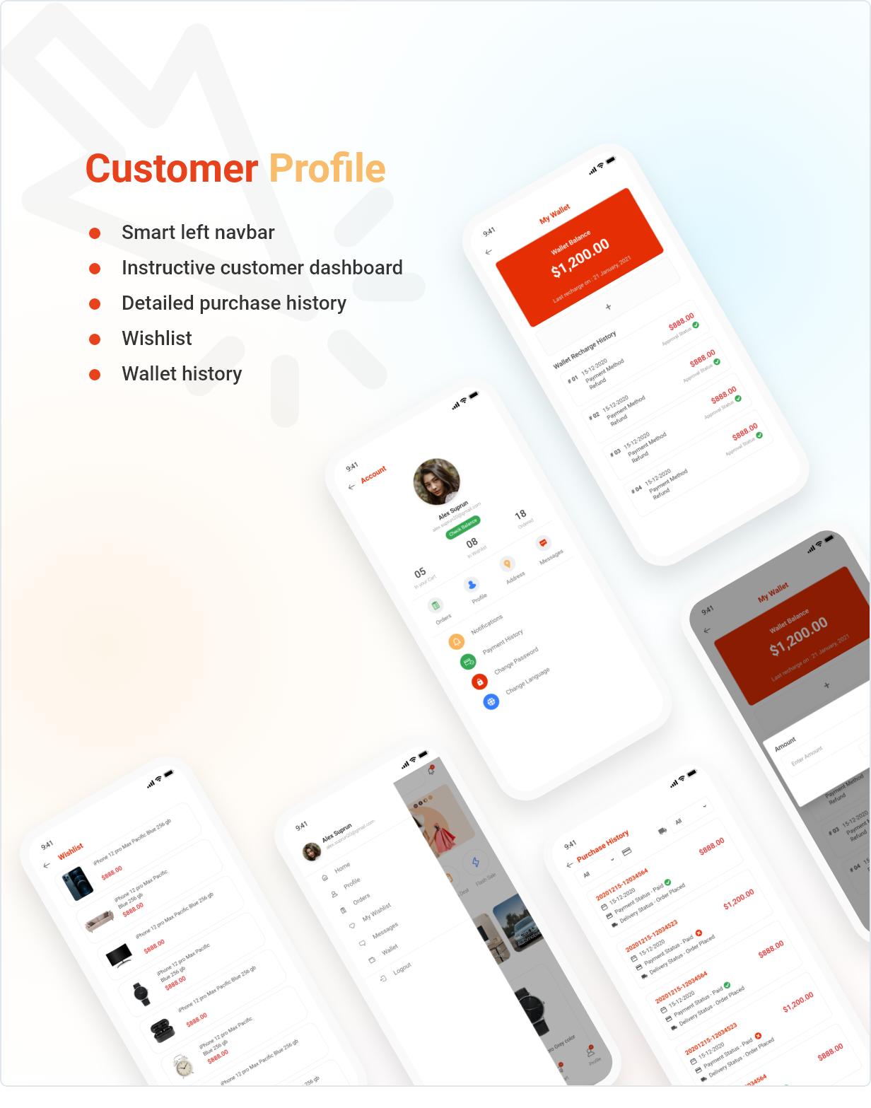 Application Flutter de commerce électronique active - 9