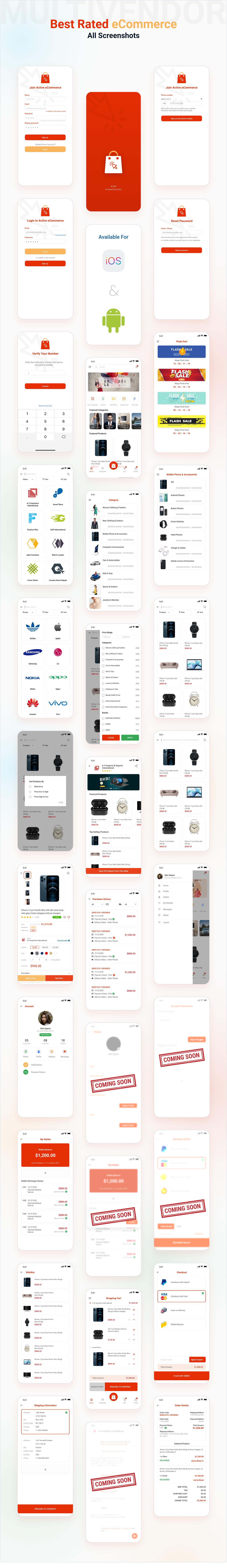 Application Flutter de commerce électronique active - 12
