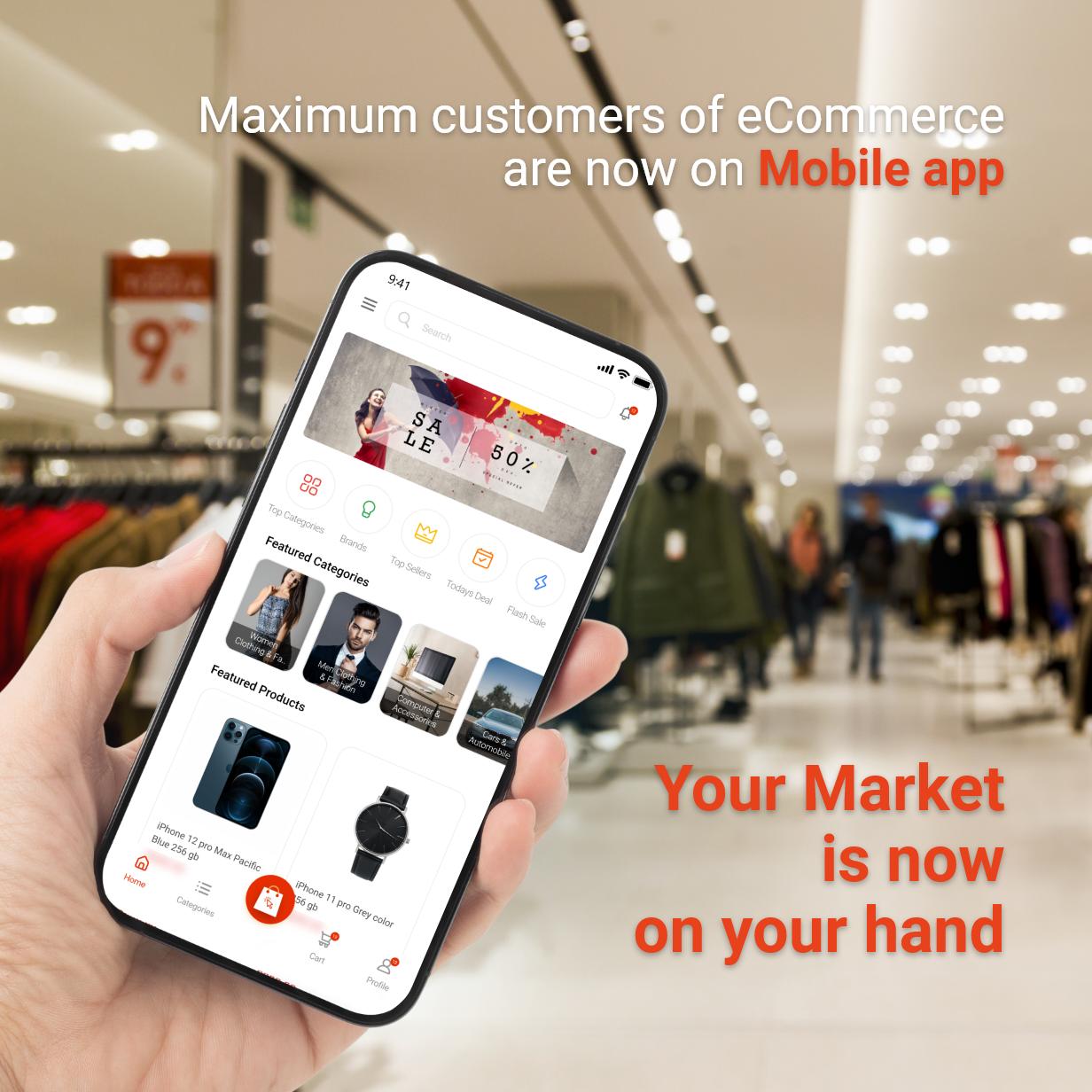 Application Flutter de commerce électronique active - 4