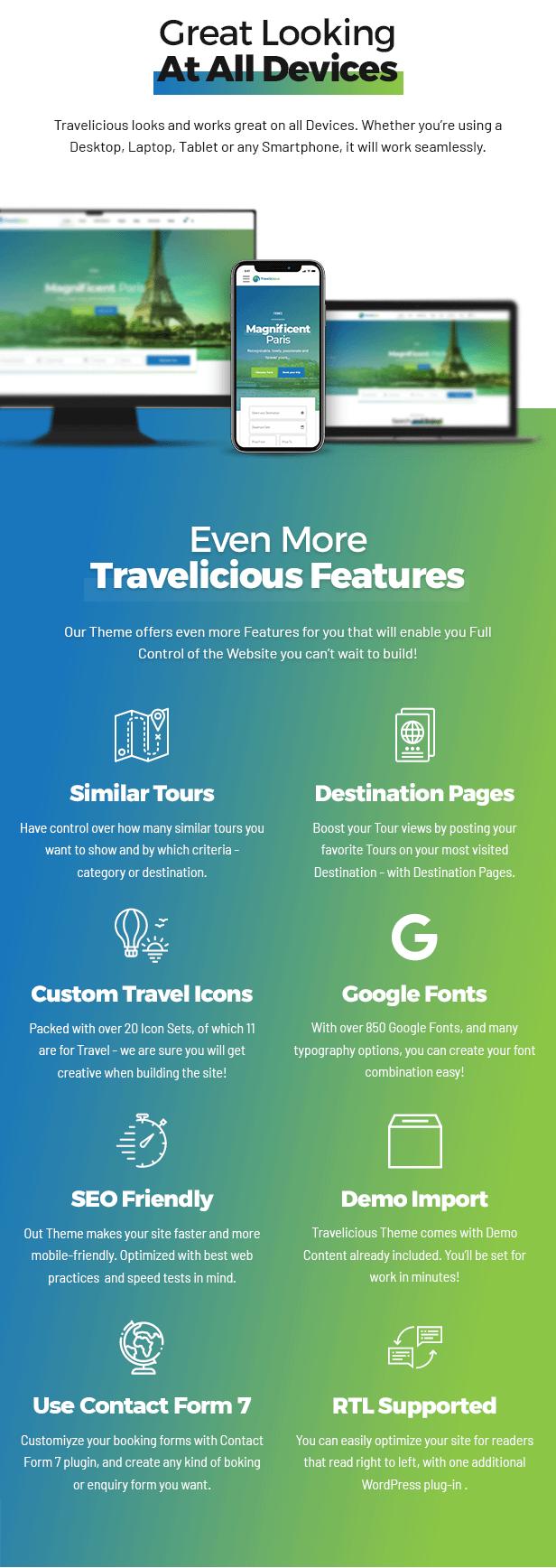 Travelicious - Thème Tour Operator - 9