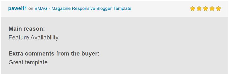 BMAG - Modèle de blogueur réactif pour magazine - 13