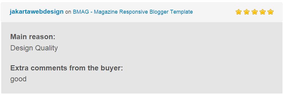 BMAG - Modèle de blogueur réactif pour magazine - 16