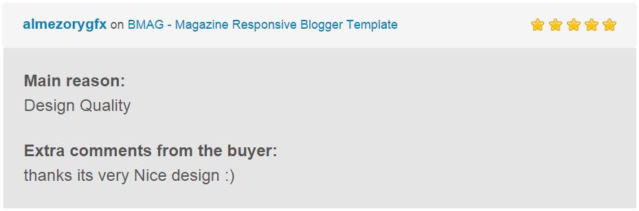BMAG - Modèle de blogueur réactif pour magazine - 19