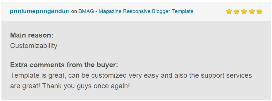 BMAG - Modèle de blogueur réactif pour magazine - 20