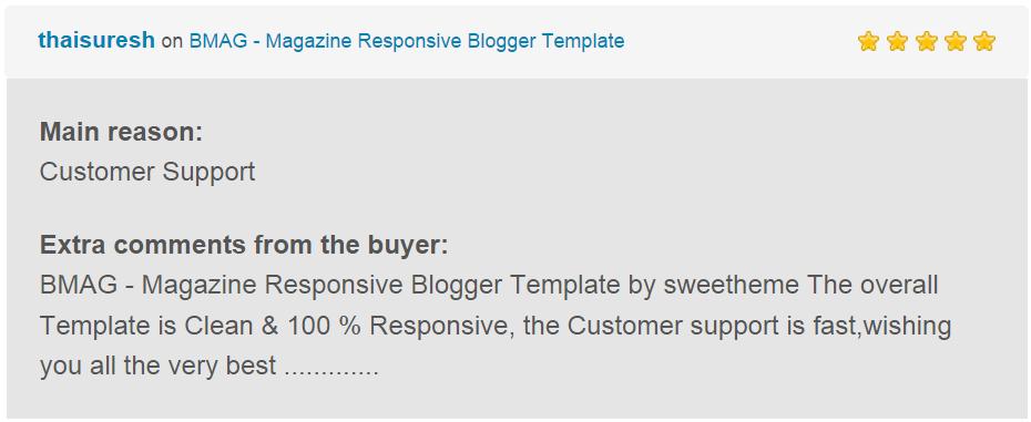 BMAG - Modèle de blogueur réactif pour magazine - 21