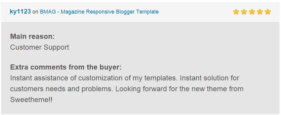 BMAG - Modèle de blogueur réactif pour magazine - 22