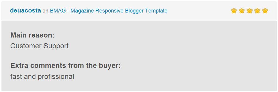 BMAG - Modèle de blogueur réactif pour magazine - 25