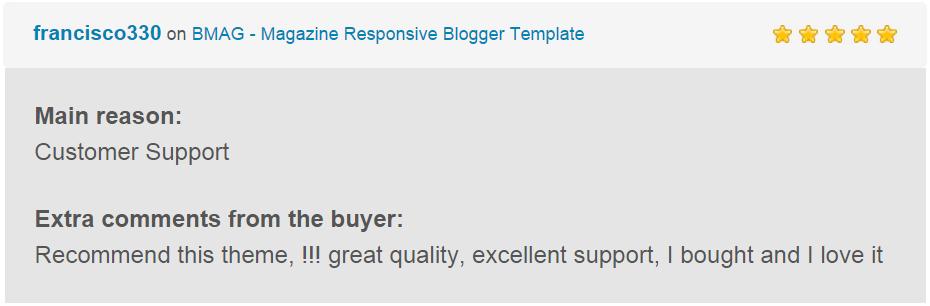 BMAG - Modèle de blogueur réactif pour magazine - 28