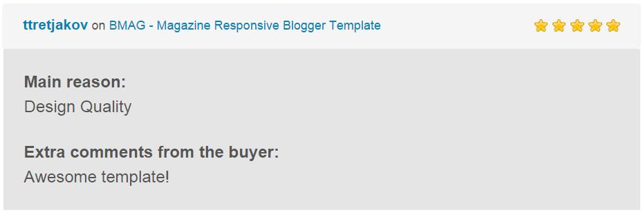 BMAG - Modèle de blogueur réactif pour magazine - 27