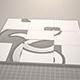 animation de logo de conception de puzzle