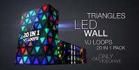 Tunnel disco lumineux 2-4