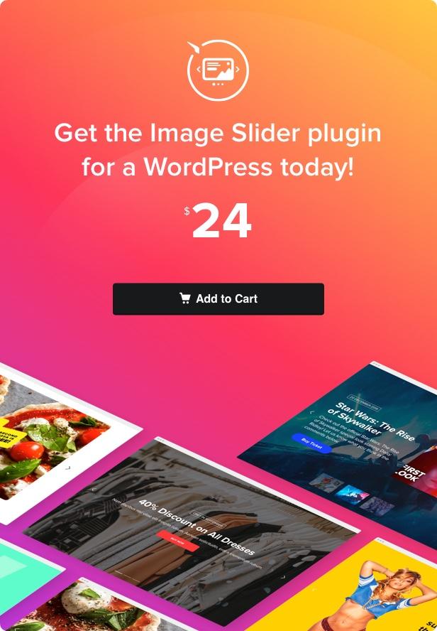 Curseur - Curseur d'image WordPress - 4