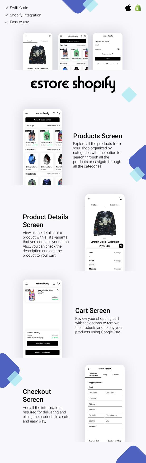 Boutique en ligne Shopify - 1